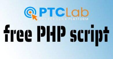 Free PTC lab PHP Script download to Create a pay per click site