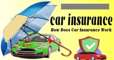 car insurance - How Does Car Insurance Work